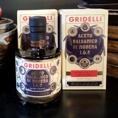 GRIDELLI ACETO BALSAMICO NERO BIOLOGICO
